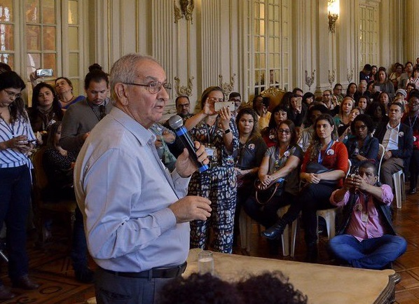 Presidente da Câmara dos Vereadores do Rio, Jorge Felippe Neto assume prefeitura após prisão de Crivella