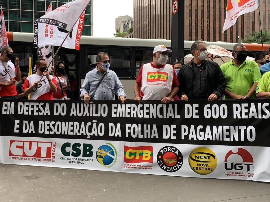Sindicatos querem que veto de Bolsonaro seja derrubado