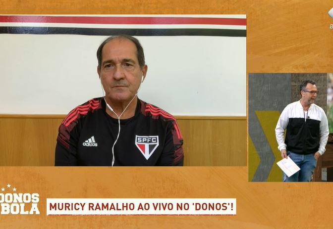 """Muricy evita empolgação, mas exalta Crespo: """"Está com fome de ganhar"""""""
