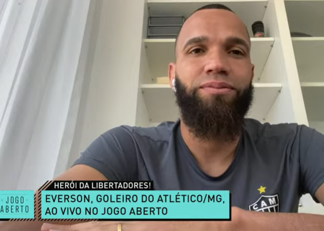 Everson lamenta vandalismo e pede punição severa ao Boca Juniors