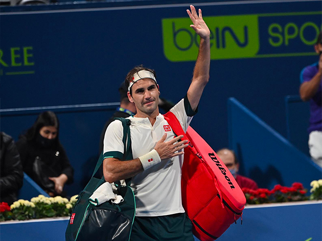 Federer desiste do ATP 500 de Dubai para focar nos treinamentos
