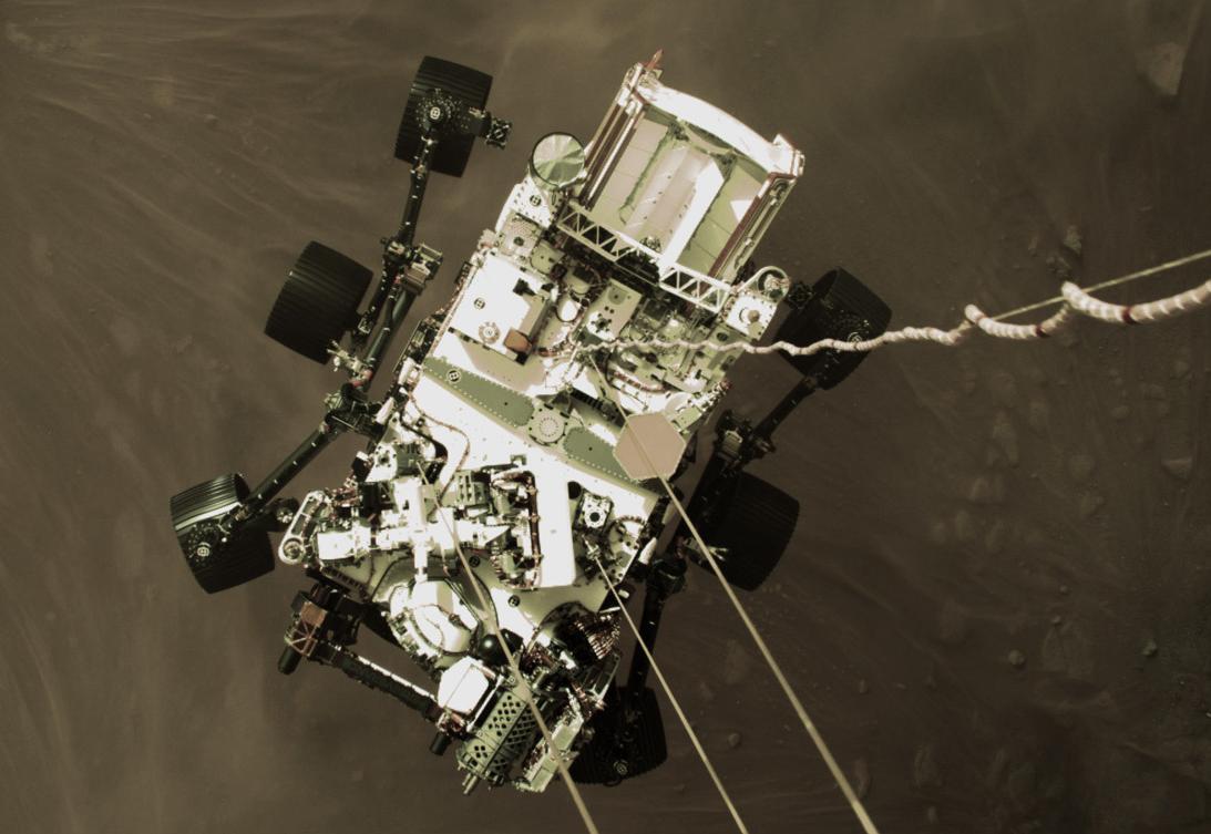 Nasa divulga vídeo de sonda pousando em Marte; assista