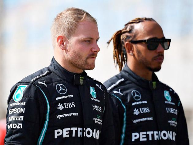 """Hamilton publica texto e agradece Bottas: """"Você é maior do que imagina"""""""