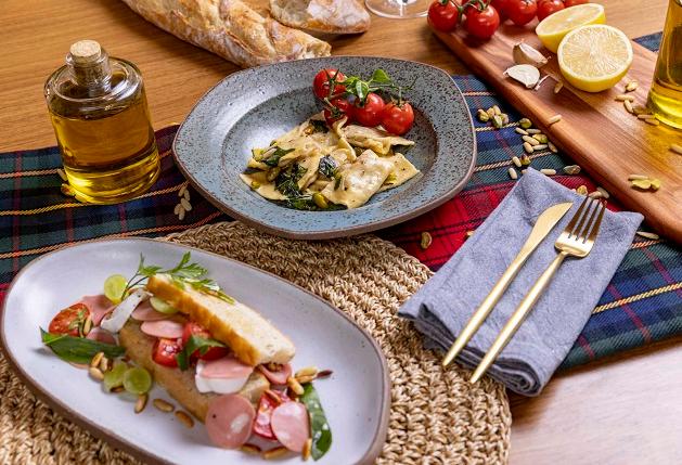 Sanduíche caprese e ravióli de mortadela: Jacquin ensina pratos típicos da culinária italiana