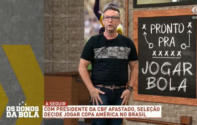 """Neto: """"O que é Copa América perto de uma denúncia de assédio?"""""""