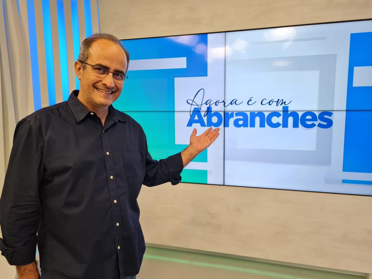 """Carlos Abranches comandará """"Agora é com Abranches"""" a partir de 12 de junho na TV Band Vale"""