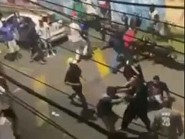 Baile acaba em pancadaria com moradores em Diadema; veja as imagens