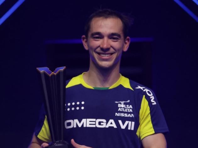Hugo Calderano conquista título inédito no Circuito Mundial de tênis de mesa