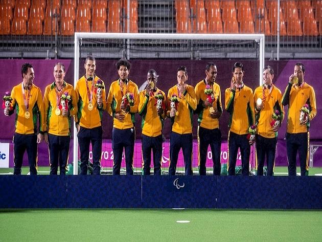Futebol de 5 conquistou a medalha de ouro após vencer a Argentina por 1 a 0