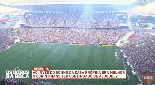 """Casa própria ou aluguel? Donos discute """"legado"""" da Arena Corinthians"""