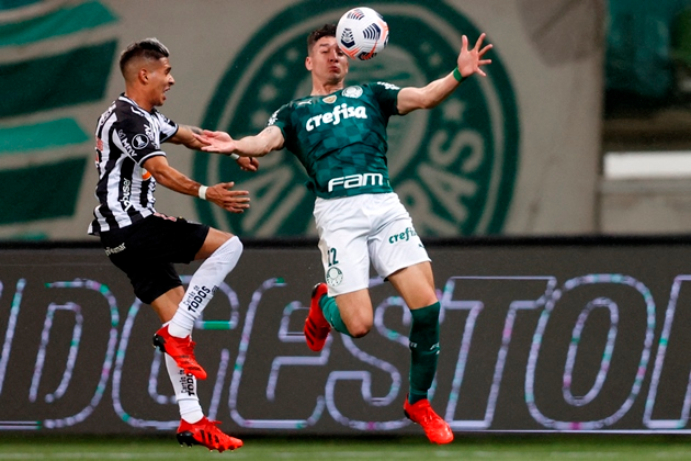 """Palmeiras foi o """"vencedor"""" do primeiro confronto contra o Atlético-MG"""