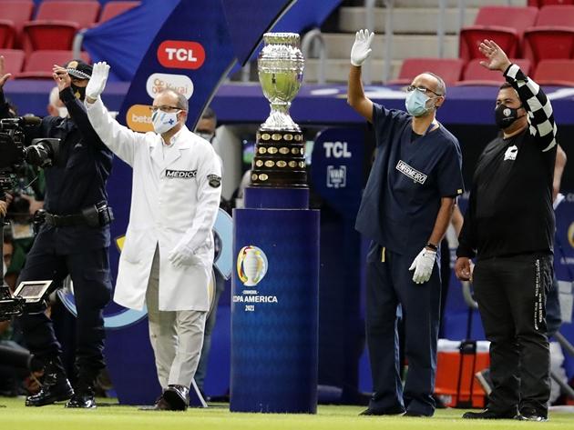 Ministério da Saúde confirma 41 casos de Covid-19 na Copa América no Brasil