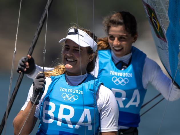 Martine Grael e Kahena Kunze entram para o grupo de bicampeões olímpicos brasileiros; veja a lista