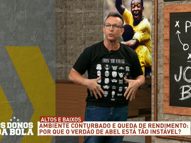 """Neto detona Abel por pedir reforços: """"Se fosse brasileiro já teria caído"""""""
