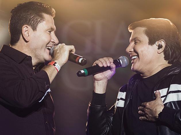 Gian e Giovanni se apresentam ao vivo no Música na Band