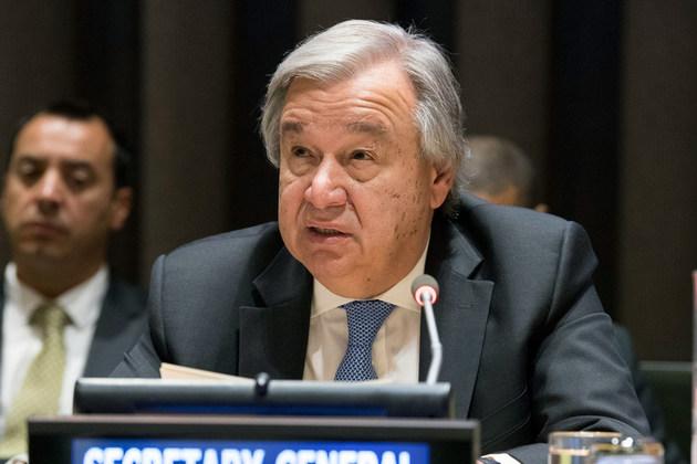 Secretário-geral da ONU pede união ao mundo para enfrentar a pandemia