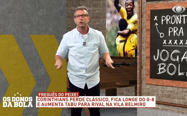 """Neto vê Corinthians sem alma e no fundo do poço: """"Temporada 2021 vai ser um sufoco"""""""
