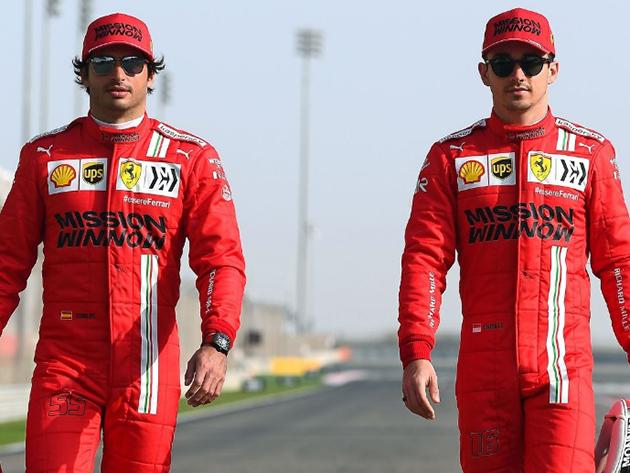 Sainz e Leclerc lamentaram a escolha de pneus da equipe em Portimão