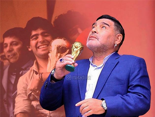 Porsche de Maradona na década de 1990 vai a leilão