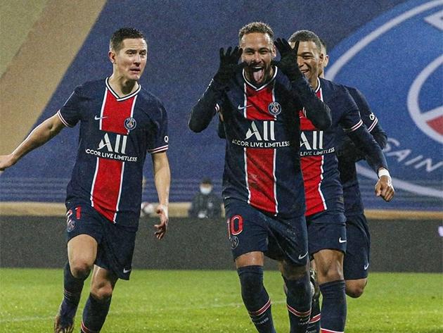 Neymar volta com gol, PSG bate Olympique e fatura Supercopa da França