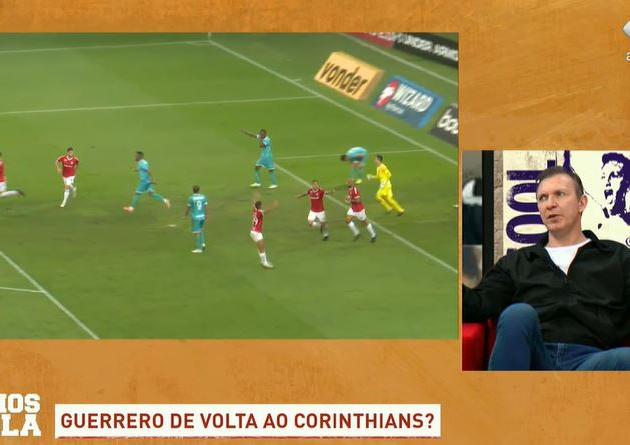 "Velloso: ""Corinthians faria uma loucura se contratasse Guerrero"""