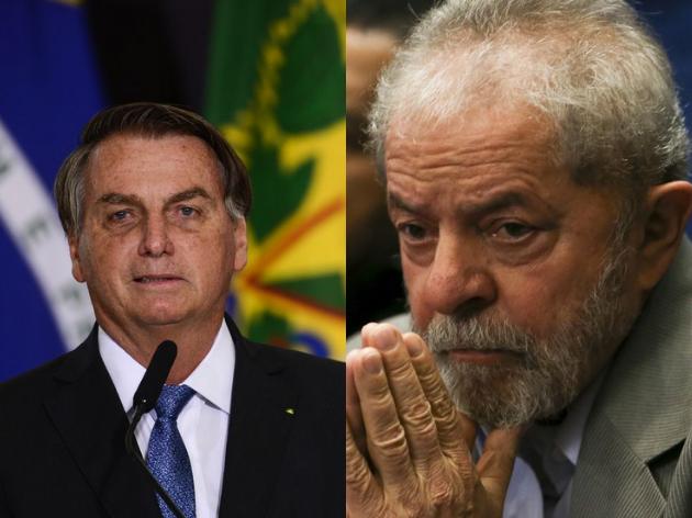Lula ficaria à frente de Bolsonaro no 1º turno, aponta IPEC