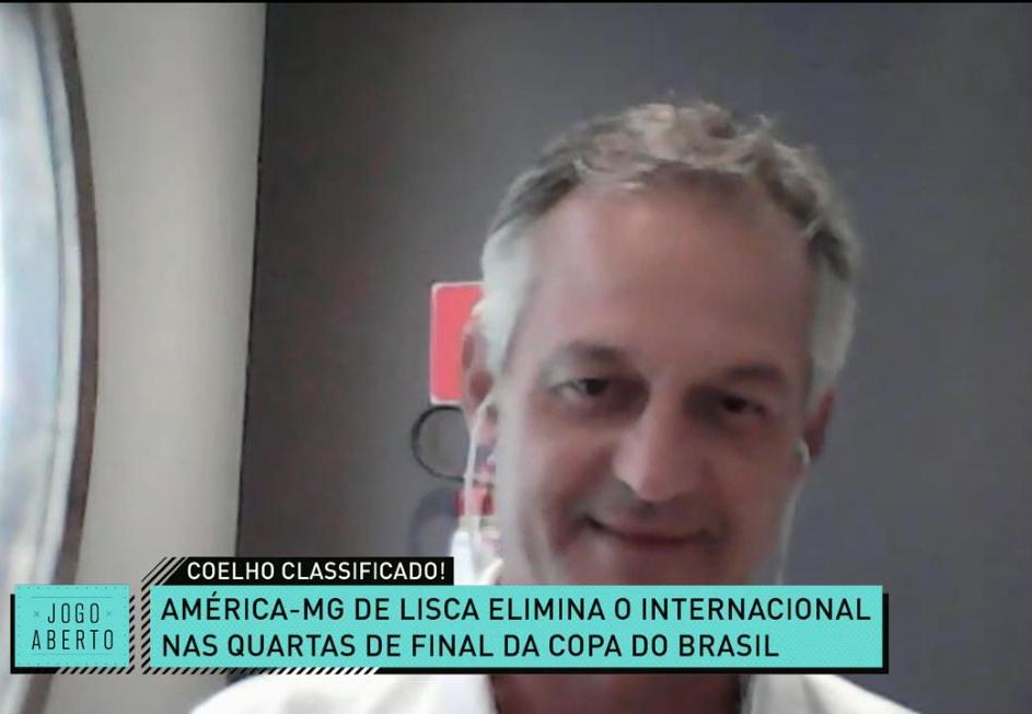 Lisca diz ter propostas do exterior e garante: não volta a Porto Alegre tão cedo